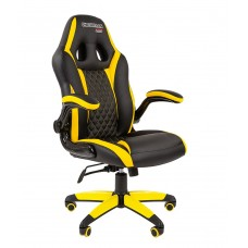 Кресло CHAIRMAN GAME 15 Черный/Желтый