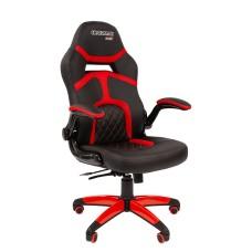 Кресло CHAIRMAN GAME 18 Черный/Красный