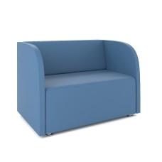 """Диван """"Роса"""" (низкое) Ecotex Голубой"""