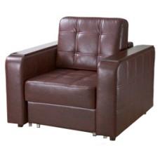 """Кресло """"Тревис"""" Ecotex Коричневый"""