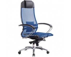 Кресло руководителя Samurai (Самурай) S-1.03 Синий