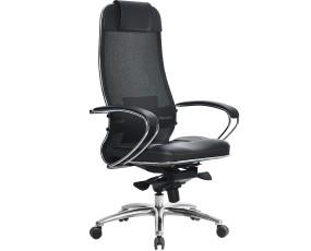 Кресло руководителя Samurai (Самурай) SL-1.03 Черный Плюс