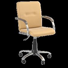 Кресло Samba (Самба) GTP Chrome V10 W1031 Желтый