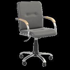 Кресло Samba (Самба) GTP Chrome V14 W1007 Черный