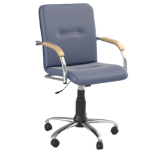 Кресло Samba (Самба) GTP Chrome V15 W1007 Синий