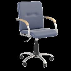 Кресло Samba (Самба) GTP Silver V15 W1007 Синий