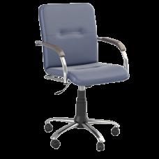 Кресло Samba (Самба) GTP Chrome V15 W1031 Синий