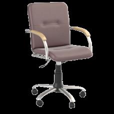 Кресло Samba (Самба) GTP Silver V16 W1007 Бордовый