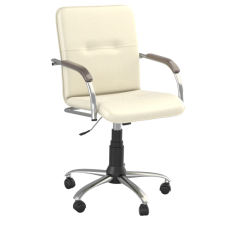 Кресло Samba (Самба) GTP Chrome Белый