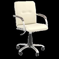 Кресло Samba (Самба) GTP Silver V17 W1031 Белый