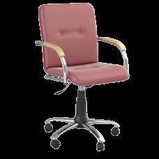 Кресло Samba (Самба) GTP Chrome V27 W1007 Красный
