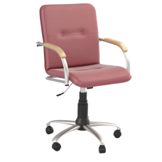 Кресло Samba (Самба) GTP Silver V27 W1007 Красный