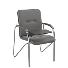 Стул Samba T (Самба) Chrome V14 W1031 Черный со столиком