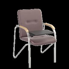 Стул Samba T (Самба) Silver V16 W1007 Бордовый со столиком