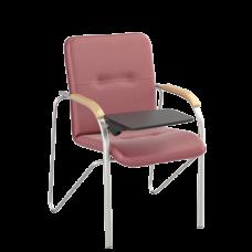 Стул Samba T (Самба) Silver V27 W1007 Красный со столиком