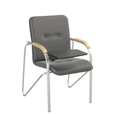Стул Samba T (Самба) Silver V14 W1007 Черный со столиком