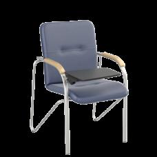 Стул Samba T (Самба) Silver V15 W1007 Синий со столиком
