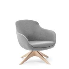 Кресло Noble Wood Серый