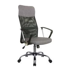 Кресло RCH-8074 F (подголовник - ткань) Серый