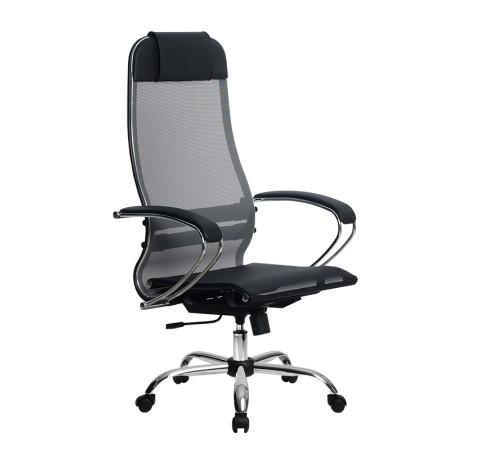 Кресло Metta (Метта) Комплект 4 Ch Серый