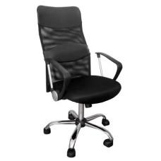 Кресло Арго (высокая спинка) Черный
