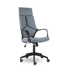 Кресло Айкью М-710 Black Pl Серый