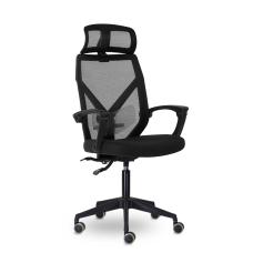 Кресло Астон М-711 Black Pl Черный