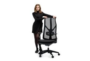 Офисное кресло Viking-11 Черный